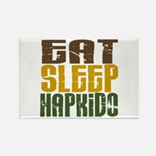 Eat Sleep Hapkido Rectangle Magnet