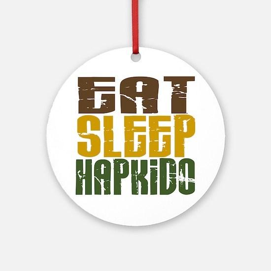 Eat Sleep Hapkido Ornament (Round)