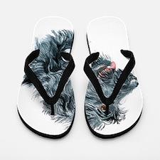 Unique Labradoodles Flip Flops