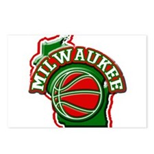 Milwaukee Basketball Postcards (Package of 8)