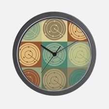 Air Traffic Control Pop Art Wall Clock