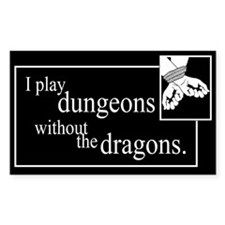 Dungeons Without Dragons Decal
