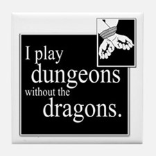 Dungeons Without Dragons Tile Coaster