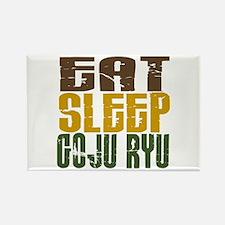 Eat Sleep Goju Ryu Rectangle Magnet