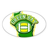 Green bay Stickers & Flair