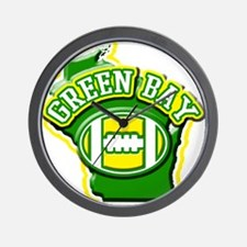 Green Bay Football Wall Clock