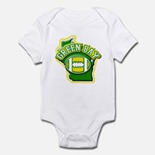 Green Bay Football Infant Bodysuit
