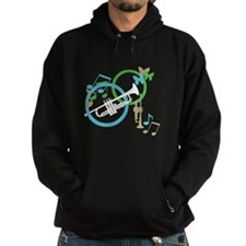 Abstract Trumpet Hoodie