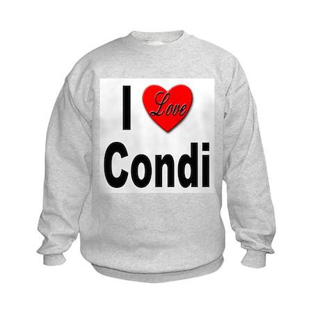 I Love Condi Kids Sweatshirt