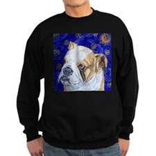 Starry Night Bulldog Sweatshirt