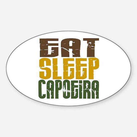 Eat Sleep Capoeira Oval Bumper Stickers