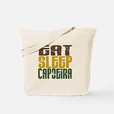 Eat Sleep Capoeira Tote Bag