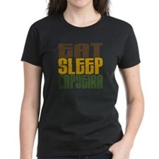 Eat Sleep Capoeira Tee