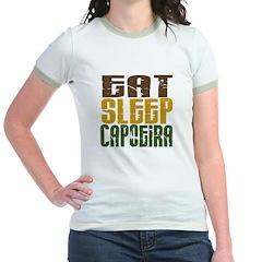 Eat Sleep Capoeira Jr. Ringer T-Shirt