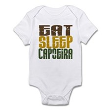 Eat Sleep Capoeira Infant Bodysuit