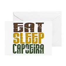 Eat Sleep Capoeira Greeting Cards (Pk of 10)