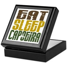 Eat Sleep Capoeira Keepsake Box