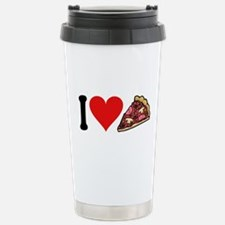 I Love Pizza (design) Stainless Steel Travel Mug