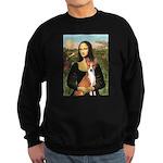 Mona Lisa - Basenji Sweatshirt (dark)