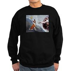 Creation of the Basenji Sweatshirt (dark)