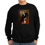 Lincoln / Basset Hound Sweatshirt (dark)