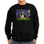 Starry Night & Basset Sweatshirt (dark)