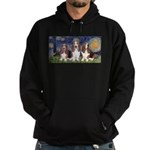 Starry Basset Hoodie (dark)