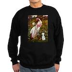 Windflowers/Bedlington T Sweatshirt (dark)