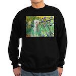 Irises /Bedlington T Sweatshirt (dark)