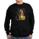 Fairies /Belgian Sheepdog Sweatshirt (dark)