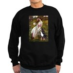 Windflowers & Bernese Sweatshirt (dark)