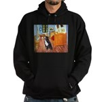 A Room with a Bernese Hoodie (dark)