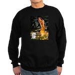 Fairies & Bichon Sweatshirt (dark)