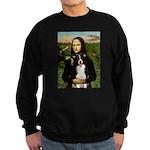 Mona & Border Collie Sweatshirt (dark)