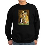The Kiss & Border Collie Sweatshirt (dark)