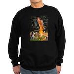 Fairies & Boston Terrier Sweatshirt (dark)
