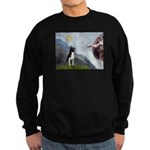 Creation of a Boston Ter Sweatshirt (dark)