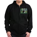 Bridge & Boston Ter Zip Hoodie (dark)