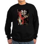 Lady & Boxer Sweatshirt (dark)