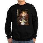 The Queen & her Boxer Sweatshirt (dark)