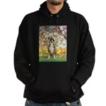 Spring with a Boxer Hoodie (dark)