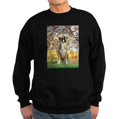 Spring with a Boxer Sweatshirt (dark)