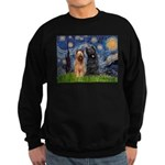 Starry - 2 Briards Sweatshirt (dark)
