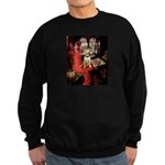 The Lady's Bull Terrier Sweatshirt (dark)
