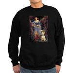 Ophelia / Bull Ter Sweatshirt (dark)