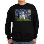 Starry/Bull Terrier (#4) Sweatshirt (dark)