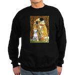 The Kiss & Bull Terrier Sweatshirt (dark)
