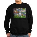 Windflowers Bull Terrier Sweatshirt (dark)