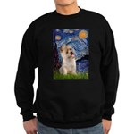 Starry Night / Cairn Terrier Sweatshirt (dark)
