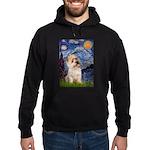 Starry Night / Cairn Terrier Hoodie (dark)